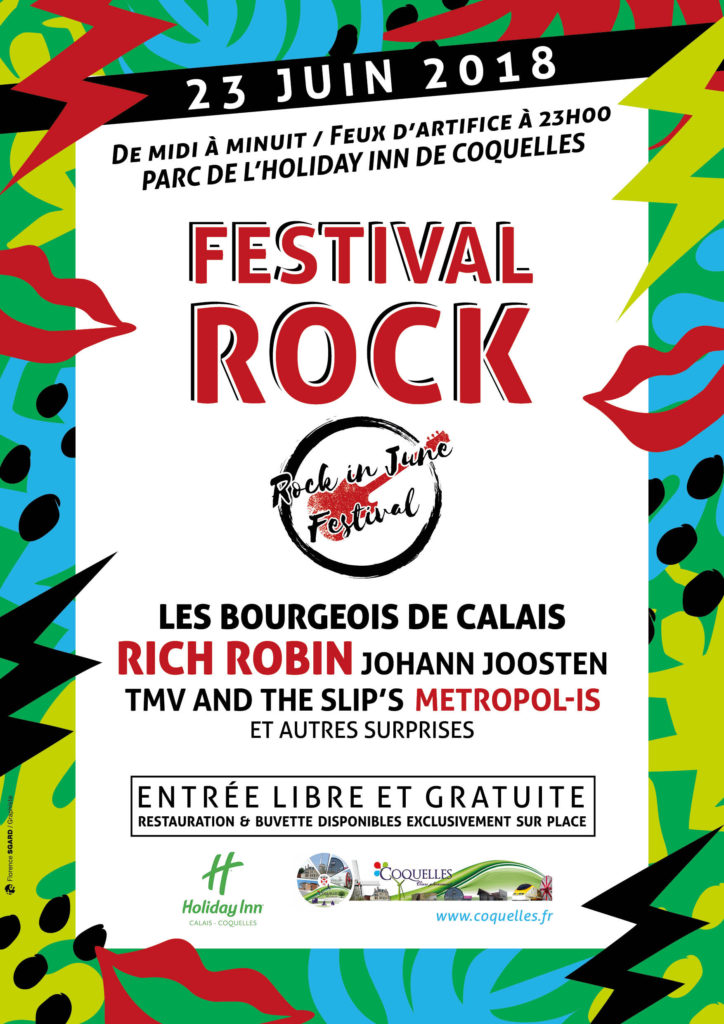 Affiche rock in june 724x1024